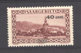 Sarre  :  Yv  172  * - Unused Stamps