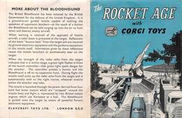 """08980 """"THE ROCKET AGE WITH CORGY TOYS"""" PIEGH. ORIGINALE - Sonstige"""