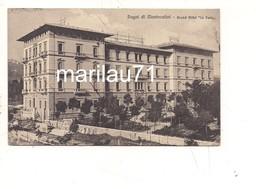 P905 Toscana MONTECATINI TERME Pistoia Hotel La Pace 1912 Viaggiata - Italia
