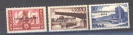Sarre  :  Yv  344-46  ** - Unused Stamps