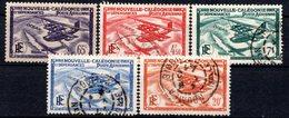 NOUVELLE CALEDONIE (Colonie Française) - 1938 - P.A. - N° 29 à 33 - (Légende : NOUVELLE CALEDONIE) - Nuovi