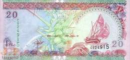 MALDIVES 20 RUFIYAA 2000 PICK 20a UNC - Maldives