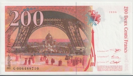 FRANCE P. 159b 200 F 1996 UNC - 1992-2000 Ultima Gama