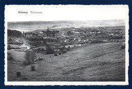Halanzy (Aubange). Panorama Avec Les Hauts-fourneaux De L'usine Sidérurgique - Aubange