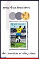 Ref. BR-1145 BRAZIL 1970 FOOTBALL SOCCER, 1,000TH GOAL BY PELE,, SPORT, MI# B26, S/S MNH 1V Sc# 1145 - Ungebraucht