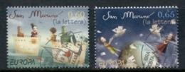San Marino 2008 Europa The Letter FU - Oblitérés