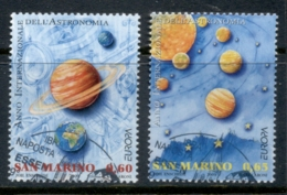 San Marino 2009 Europa Space & Astronomy FU - Oblitérés