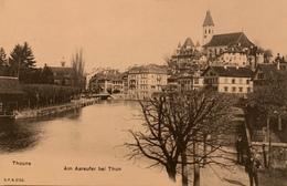 Thoune - Am Aareufer Bel Thum - BE Berne