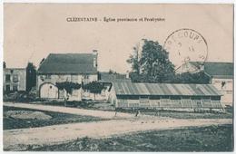 CLEZENTAINE (88) EGLISE PROVISOIRE Et PRESBYTERE. 1928. - Autres Communes