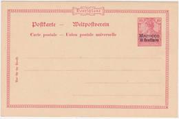 Dt. Post In Marokko MiNr. P6 * (R1038) - Deutsche Post In Marokko