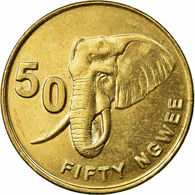 Sambia Münzen Zambia 50 NGWEE 2012 UNC COIN AFRIKA CURRENCY Elephant - Zambia