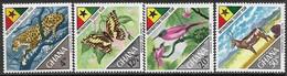 Ghana   1967   Sc#315-8  Tourism Set MLH   2016 Scott Value $17   Wildlife - Ghana (1957-...)