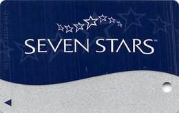 Harrah's Casino Multi-Property - TR Seven Stars Companion Slot Card @2008 / 13 Casinos / BLANK - Casino Cards
