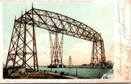 Minnesota Duluth Aerial Bridge Over Ship Canal 1906 Detroit Publishing - Duluth
