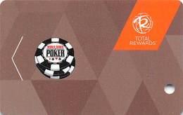 Harrah's Casino - 2017 WSOP Slot Card - BLANK - Casino Cards