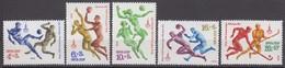 Russia, USSR 20.06.1979Mi # 4856-60; Moscow Summer Olympics (X) MNH OG - Nuevos