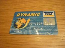 Greece Alpha Bank Dynamic VISA Credit Card (banknote Related Champion Super Market) - Carte Di Credito (scadenza Min. 10 Anni)