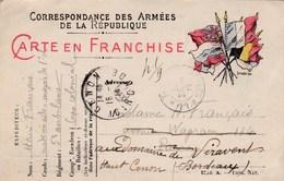 Carte De Correspondance Des Armées - Pour Paris (75) Puis Cenon (33) - 31 Août 1914 - 5ème Ambulance Corps Colonial - Marcophilie (Lettres)