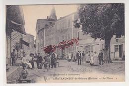 Au Plus Rapide Châteauneuf De Galaure La Place Circulé Très Bon état - France