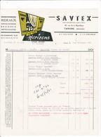 69-Savtex...Rideaux-Applications Broderies-Impressions...Tarare..(Rhône)..1961 - Textile & Vestimentaire