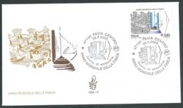2005 ITALIA FDC VENETIA 1294 ANNO DELLA FISICA NO TIMBRO ARRIVO - VT - F.D.C.