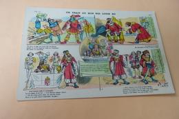 BELLE ILLUSTRATION ...UN TRAIT DU BON ROI LOUIS XII ...IMAGERIE D'EPINAL - Illustrateurs & Photographes