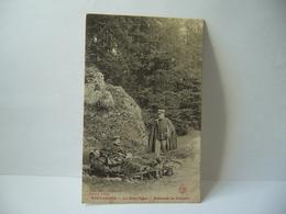 PONTARLIER 25 DOUBS LES ENTRE PORTES EMBUSCADE DE DOUANIER CPA 1907 Borel Phot Pontarlier Plaques Jougla - Pontarlier