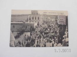 Tripoli. - Fétes Des Marabouts.-Rue Si-Hmouda. (1 - 2 - 1910) - Libia