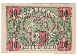 Österreich Austria Notgeld 10 HELLER FS53 ASCHACH /159M/ - Autriche