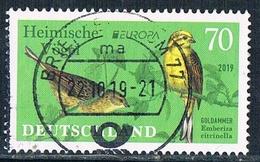 2019  Europa CEPT  (Heimische Vögel) - Gebraucht