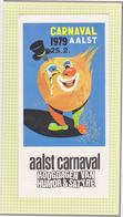 Officiele Folder Van Programma  Aalst Carnaval 1979 - Carnival