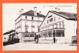 VARA112 Peu Commun LA BRESSE 88-Vosges Hotel Et Café Du COMMERCE Propriétaire LEDUC-LAURENT Revers Note Vierge - Autres Communes