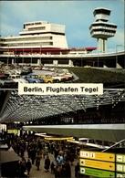 Cp Berlin Reinickendorf Tegel, Flughafen, TXL, Schalter, Tower, Innenansicht, Parkplatz - Andere