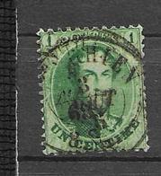 OBP13A Tanding 12,5x13,5 Met Dubbelcirkelstempel ?? - 1863-1864 Médaillons (13/16)