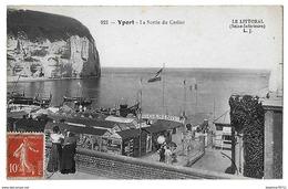 Yport-La Sortie Du  Casino - Yport