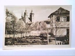 AK Schmalkalden In Thüringen, Blick Zur Stadtkirche, Panorama, Echte Photografie, 1941, Gelaufen. - Duitsland