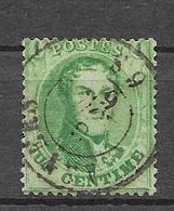 OBP13B Tanding 14,5 Met Dubbelcirkelstempel ?? - 1863-1864 Medaillen (13/16)