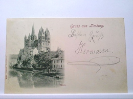 AK Limburg An Der Lahn, Gruss Aus Limburg, Dom, 1898, Gelaufen. - Deutschland