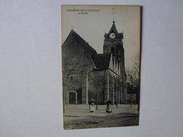 CPA, VILLENEUVE-LA-GUYARD, L'EGLISE, VOIR SCAN - Villeneuve-la-Guyard