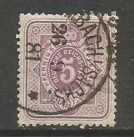 Germany - 1875 Numeral 5pf Lilac Used  Mi 32  Sc 30 - Alemania