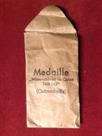 Verleihungstüte Medaille Winterschlacht Im Osten Ostmedaille 1941/1942 WW2 - 1939-45