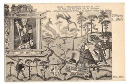 57 MOSELLE - SILLEGNY Peintures Murales Du XVIème Siècle, Pionnière - Francia