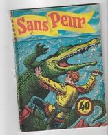 Ancien Petit Format  SANS PEUR   N° 88   DE 1958 - Small Size
