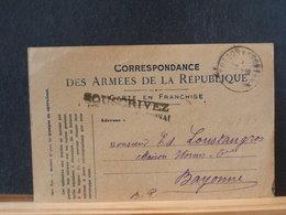 86/393   CP    FRANCE 1918 TRESOR ET POSTES - Frankrijk