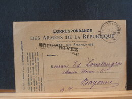 86/393   CP    FRANCE 1918 TRESOR ET POSTES - France