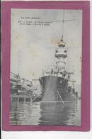 83.- TOULON .-LE BRUIX Croiseur   - Vue De La Proue - Guerre