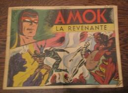 Ancien Petit Format  AMOK La  Revenante N° 5 DE 1949 - Small Size