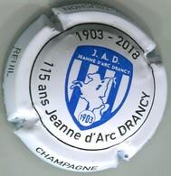 CAPSULE-CHAMPAGNE COLLARD-TRUCHON N°46x 115 Ans Jeanne D'Arc DRANCY-NR - Autres
