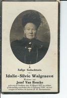 Idalie Walgraeve  O Oedelem 303-1857  + Oedelem 6-02-1930 - Andachtsbilder