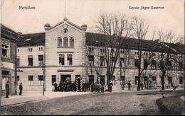 ! Alte Ansichtskarte Potsdam, Garde Jäger Kaserne , Militär, Militaria, 1916 - Potsdam